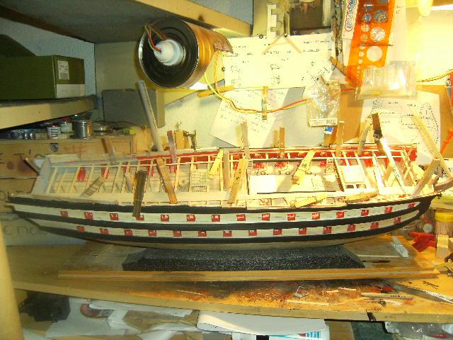 Le SUPERBE, vaisseau de 74 - 1/75 - 1782 - Page 5 DSCF4095