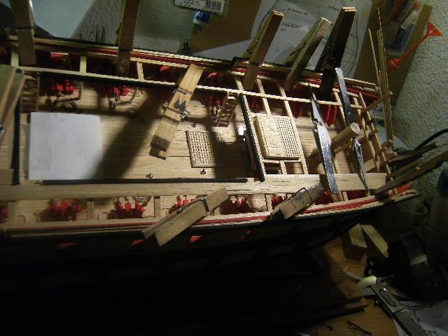 Le SUPERBE, vaisseau de 74 - 1/75 - 1782 - Page 5 DSCF4097